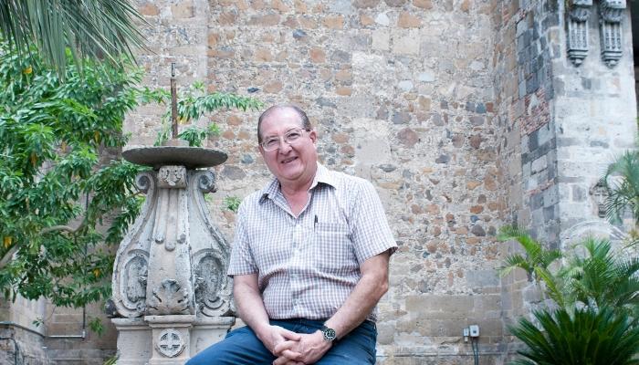 Don Roberto historiador del barrio